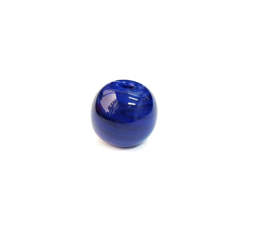 Firma 100 - Murano Bola Azul Royal (G)
