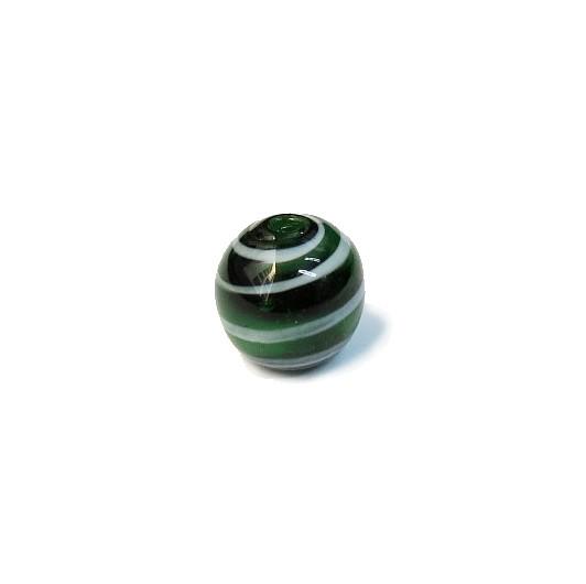 Firma 116 - Bola Murano Verde/Branco