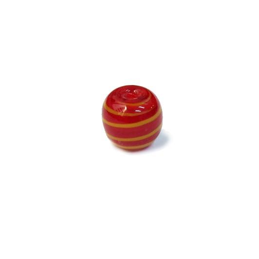 Firma 117 - Bola Murano Vermelho/Amarelo (M)