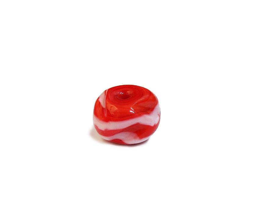 Firma 125 - Murano Meteoro Vermelho/Branco (G)