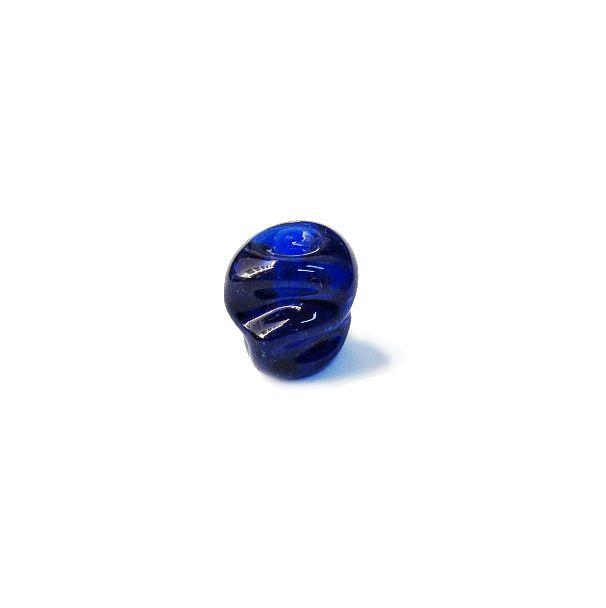 Firma 134 - Murano Azul Royal Transparente Meteoro (M)