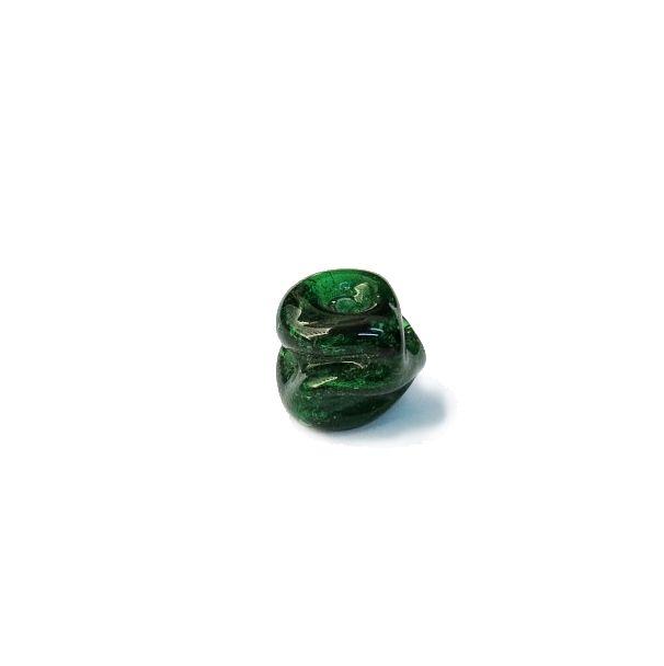 Firma 144 - Murano Verde Transparente Meteoro