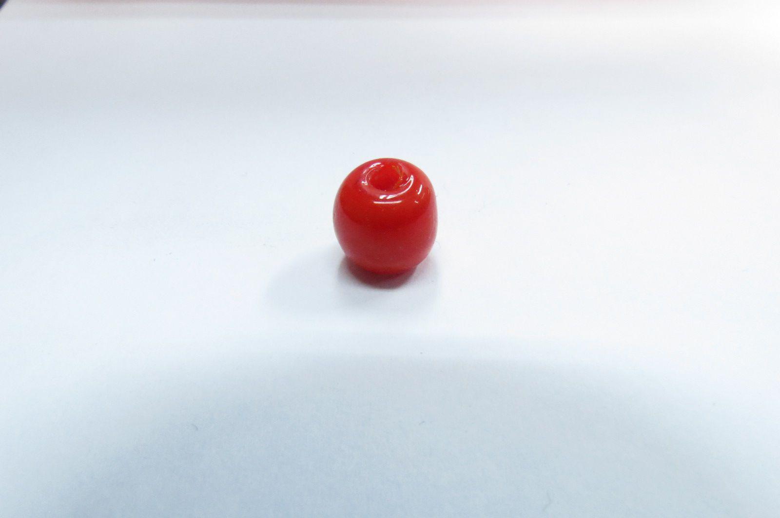 Firma murano esfera vermelho - P