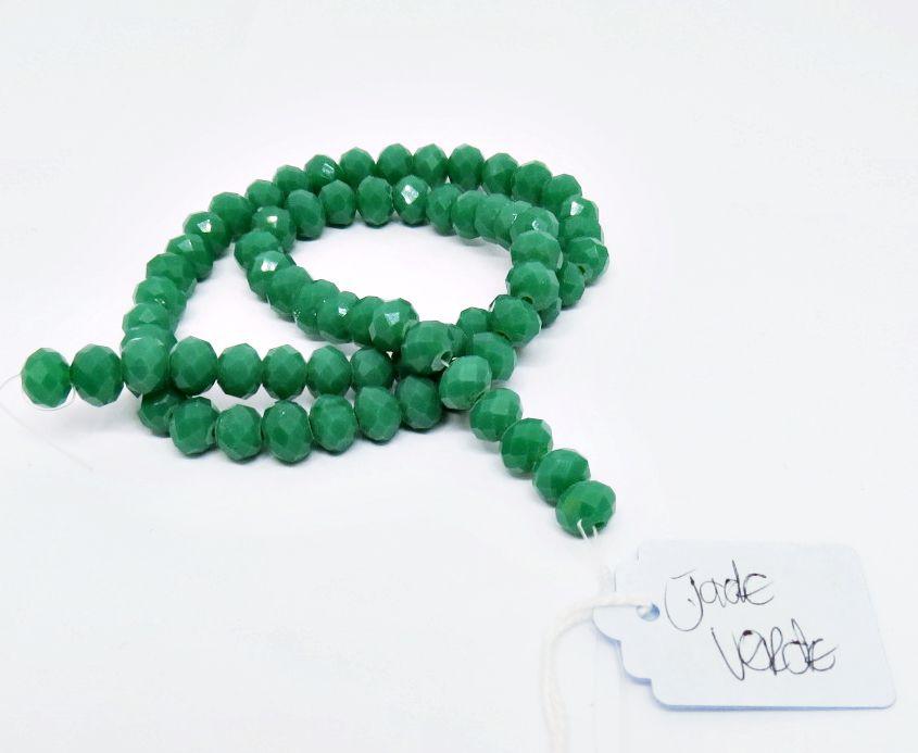 Jade Verde Achatado (08 mm)
