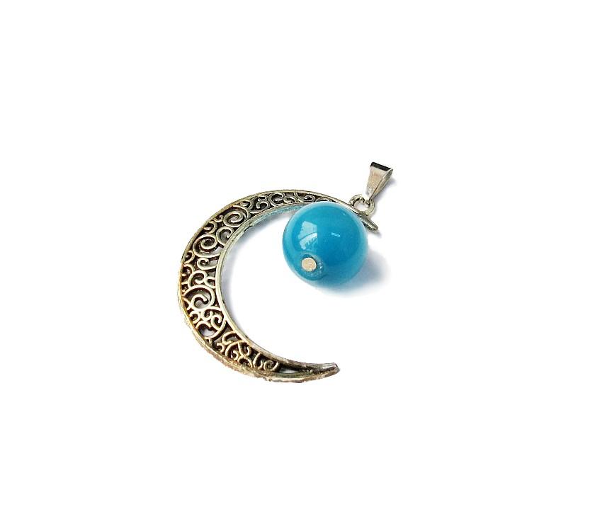 Lua - Olho de Gato Azul