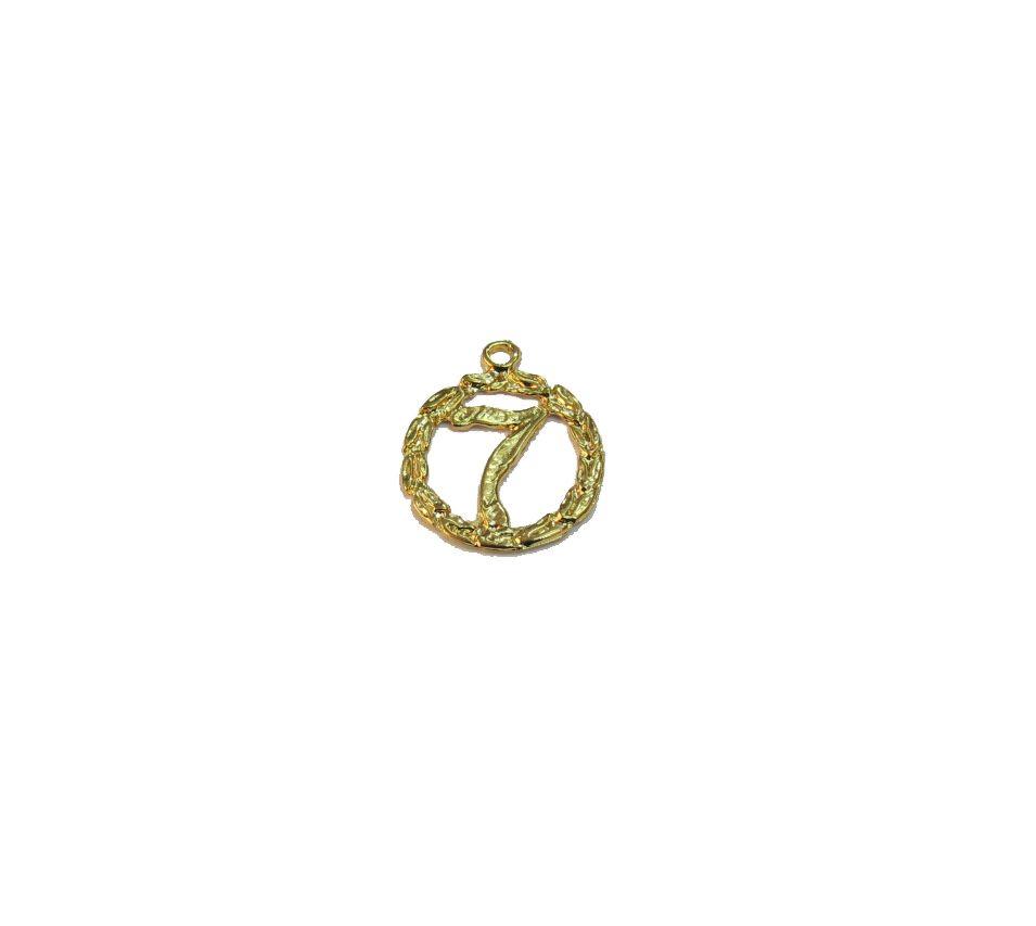 Pingente 7 Dourado
