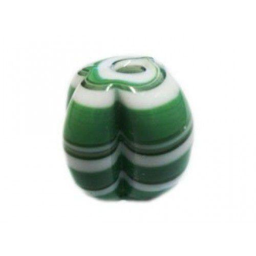 Pitanga Média 002 _ Verde e Branco