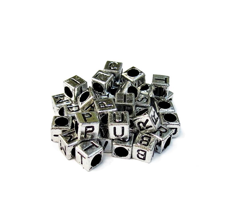 Prata/Preto (Cubo)