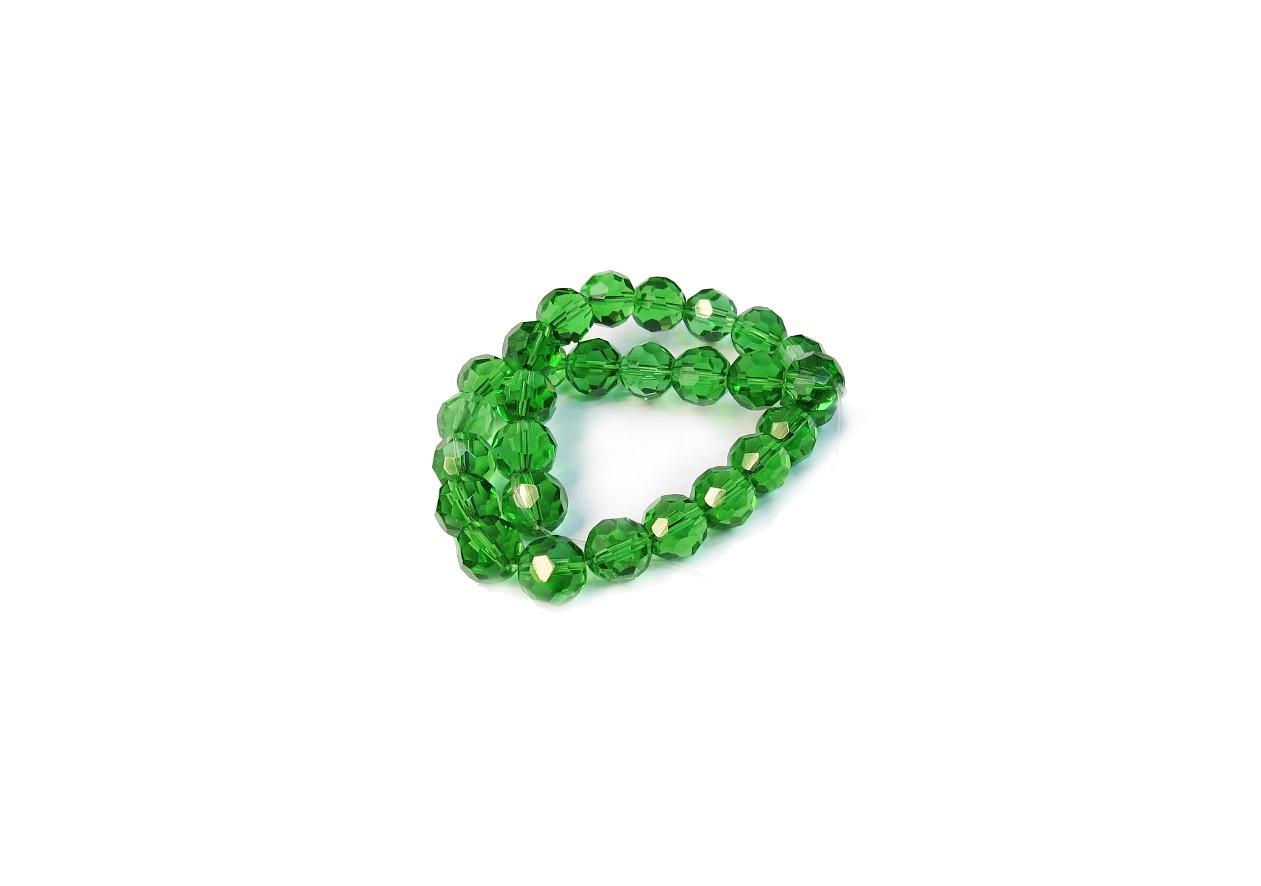Verde Claro Transparente Redondo (12 mm)