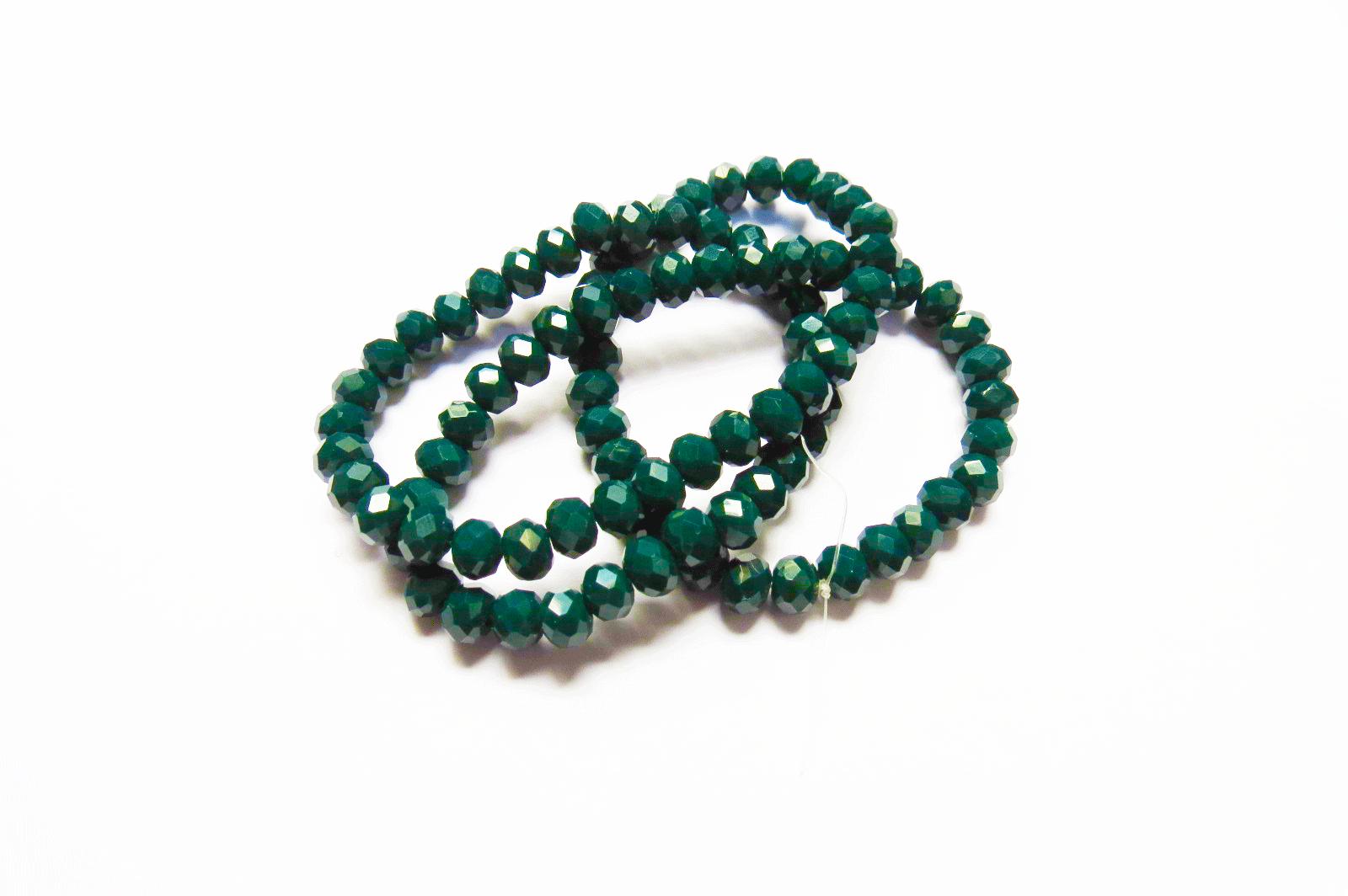 Verde Leitoso Achatado (06 mm)