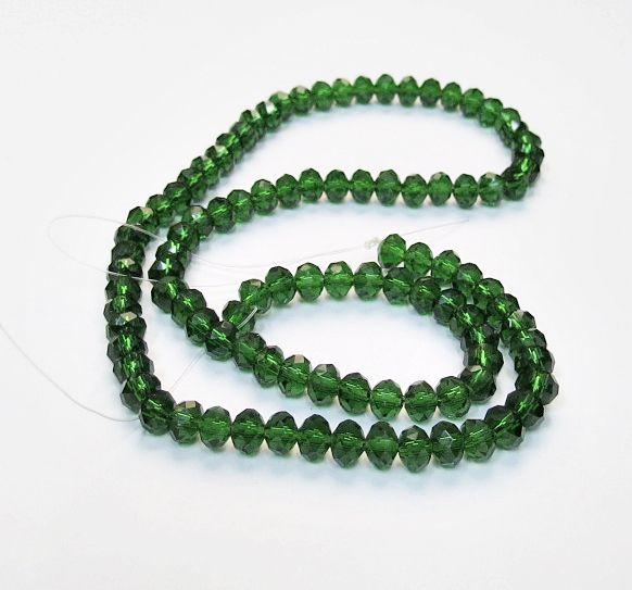 Verde Transparente Achatado (06 mm)