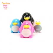 Apontador Pinguino Com Deposito Duplo Tris