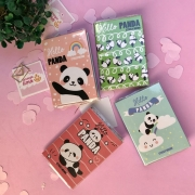Bloco Adesivo Livrinho Panda