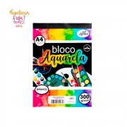 Bloco Aquarela Merci  A4 300gr
