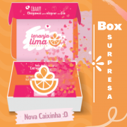 Box Surpresa Laranja Lima Presentes 50