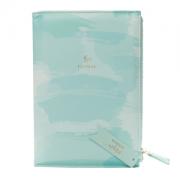 Caderno A5 Bee Com Estojo Azul Tiff Floral