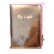 Caderno A5 Bee Com Estojo Rose Gold