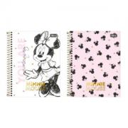 Caderno Colegial 10 Materias Minnie