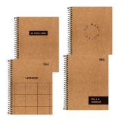 Caderno Colegial 1 Matéria Kraft Tilibra
