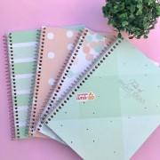 Caderno Colegial Soho 1 Materia Nova Coleção