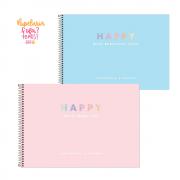 Caderno de Cartografia e Desenho Happy