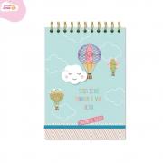 Caderno de Ideias Nuvem e Balão Fina Ideia