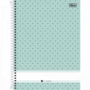 Caderno Espiral Universitario 1 Materia Academie 96 Fls Verde