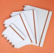 Caderno Inteligente All White | Laranja Lima Presentes