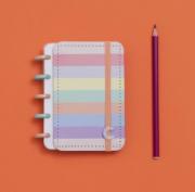 Caderno Inteligente Arco Iris Pastel Inteligine