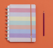 Caderno Inteligente Arco Iris Pastel Medio