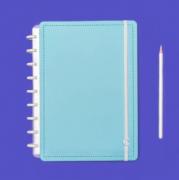 Caderno Inteligente Azul Celeste Medio