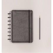 Caderno Inteligente Black Eco Tamanho A5 | Laranja Lima Presentes