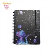Caderno Inteligente By Gocase Poeira de Estrelas Grande | Laranja Lima Presentes
