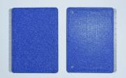 Caderno Inteligente CAPA+CONTRACAPA Glitter Blue Medio