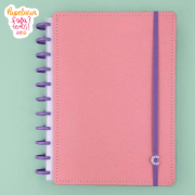Caderno Inteligente G+ Rose Rose