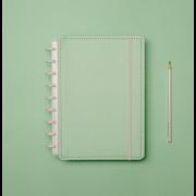 Caderno Inteligente Verde Pastel Medio