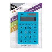 Calculadora Tris Popoffice Azul