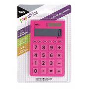 Calculadora Tris Popoffice Rosa