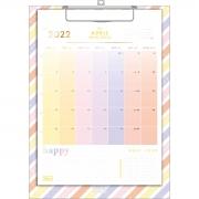 Calendário Planner Prancheta Happy Tilibra 2022