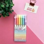 Caneta Colore Pastel Newpen By UATT - Newpen
