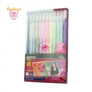 Caneta Gel Hashi Newpen Kit com 12 Cores