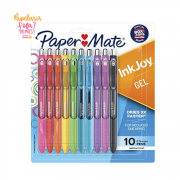 Caneta Paper Mate Gel Ink Joy RT 10 Cores 0.7mm