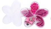 Estojo Acrilico Flor de Lotus Pink Molin