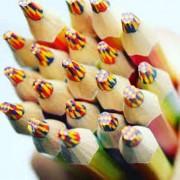 Lapis de Cor Tris Rainbow