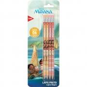 Lápis Moana - Tris Blister Com 4