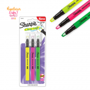 Marca Texto Sharpie Clear View Com 3