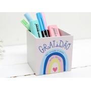 Porta Lápis Gratidão! Papelote