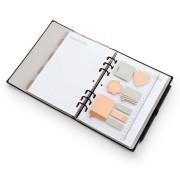 Refil Régua Com Stickys Notes Pastel G