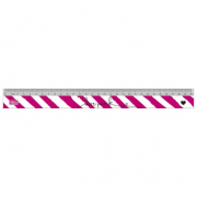 Regua Love Pink 30cm