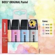 Stabilo Boss 4 Cores 50 anos